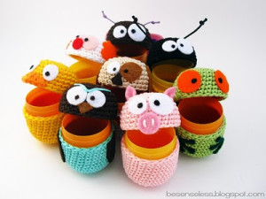 ovetti eggs crochet amimals uncinetto animali