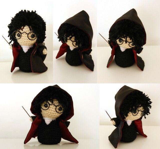 Amigurumi Harry Potter : A pedido!! Tres patrones amigurumi gratis de Harry Potter ...