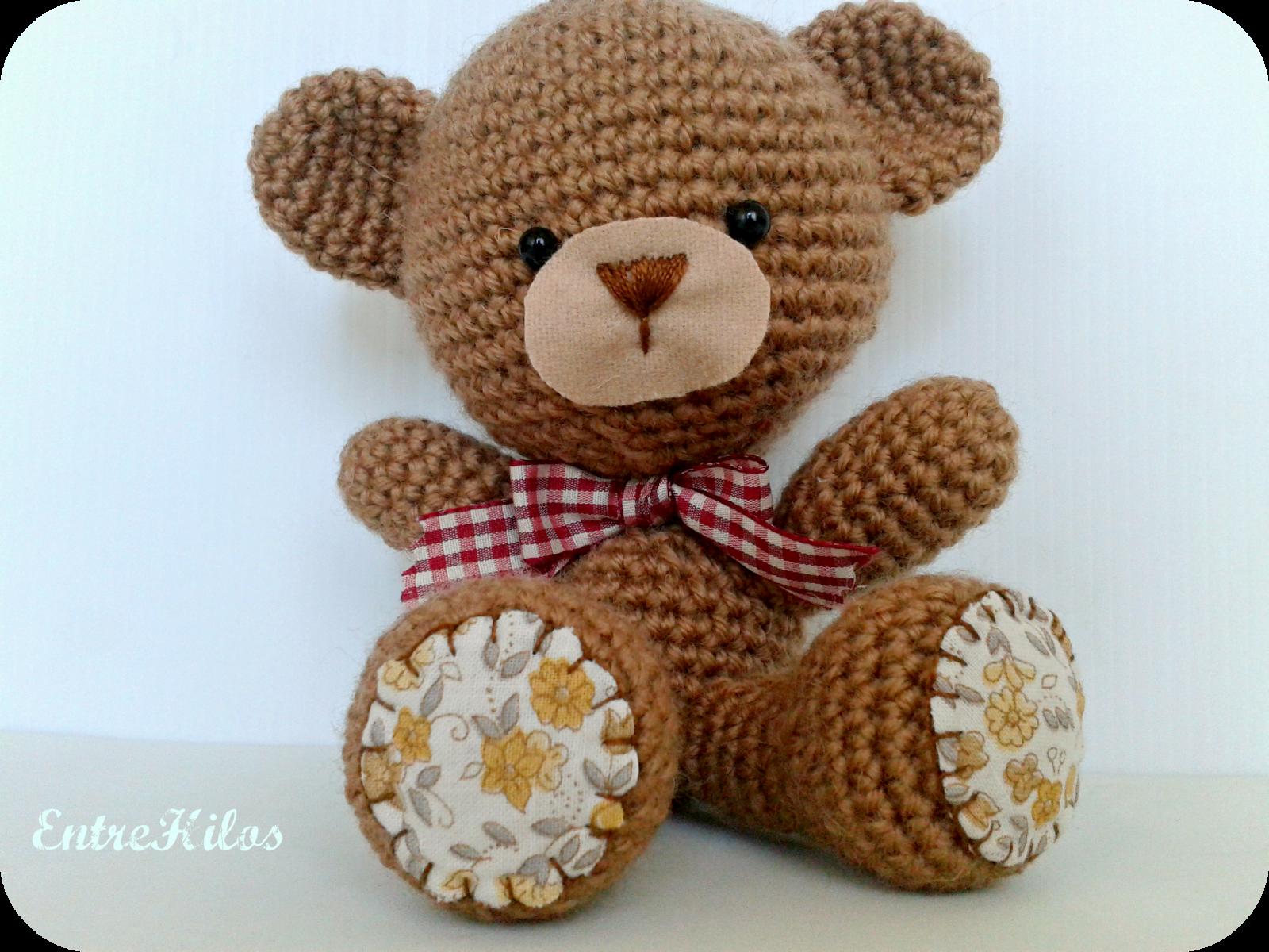 Amigurumi Kawaii Patrones : Cinco patrones gratis amigurumi de osos medianos ...
