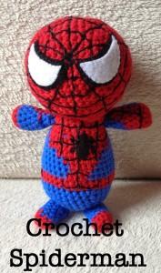 Amigurumi Spiderman Patron : Patron gratis amigurumi de spiderman amigurumis y mas