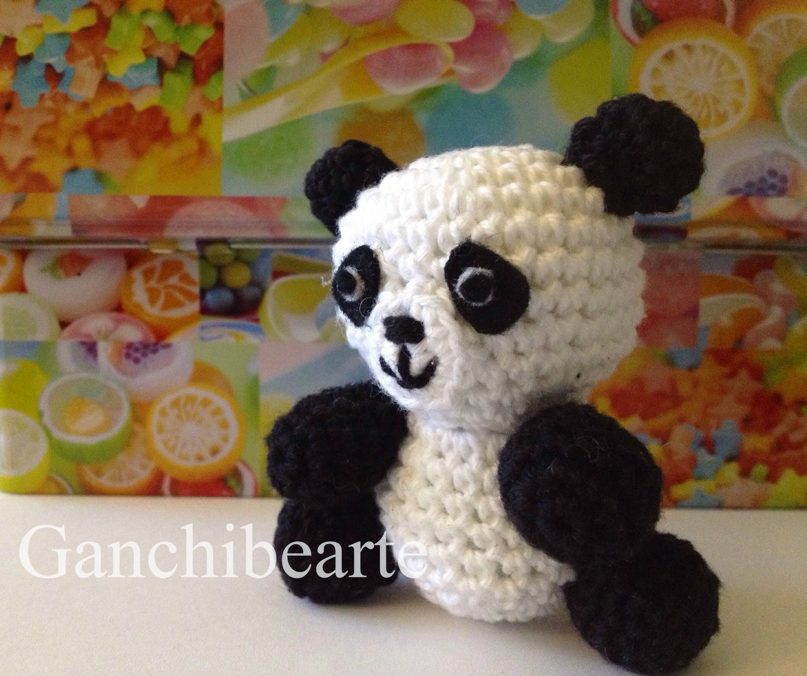 Amigurumi De Panda : Patron amigurumi gratis de oso panda amigurumis y mas