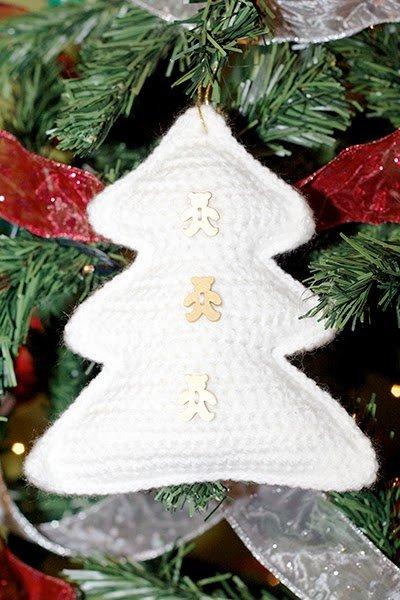Un árbol de Navidad hecho en crochet | Navidad de origami, Navidad ... | 600x400