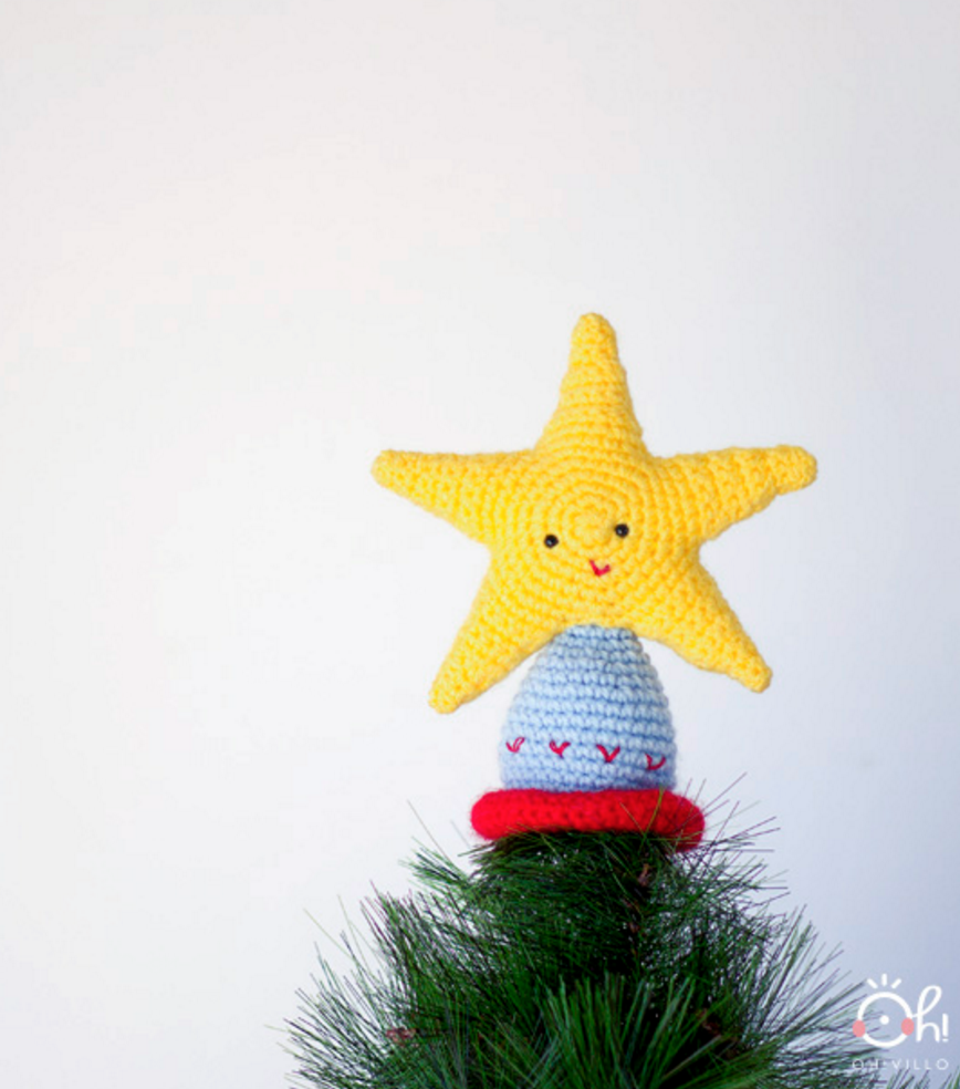 Patrón gratis para realizar búhos navideños ideales para decorar ... | 984x868