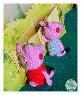 Los Amigus de Paloma: Peppa Pig Amigurumi (Patrón Gratis ... | 320x274