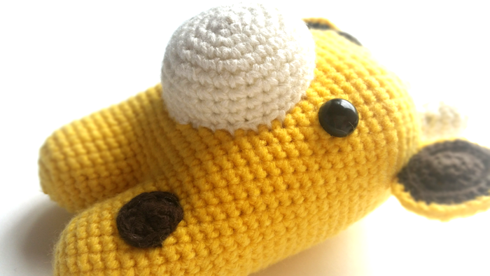 DIY Jirafa Parte 1 amigurumi crochet/ganchillo (tutorial) - YouTube | 394x700