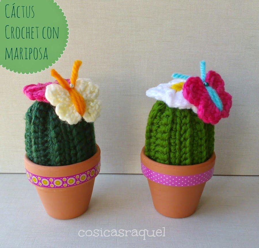 patron-cactus-amigurumi-adoraideas-ganchillo | Cactus de ganchillo ... | 860x900