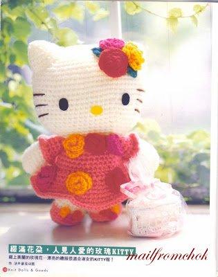 Ravelry: Big Hello Kitty pattern by Ella.D Design | 400x315