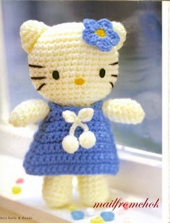 Amigurumis Tejiendo con Chico: Hello Kitty 18 | 320x244