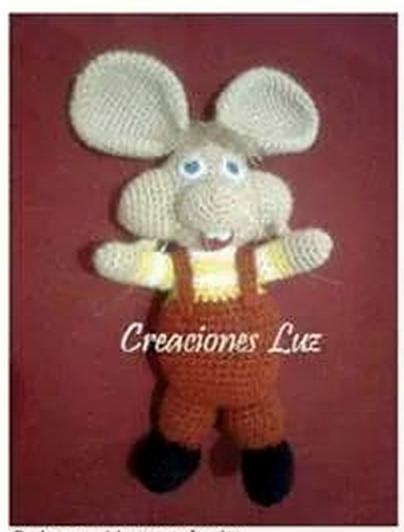 Topo Gigio crochet – Maria Martinez Amigurumi | 532x404