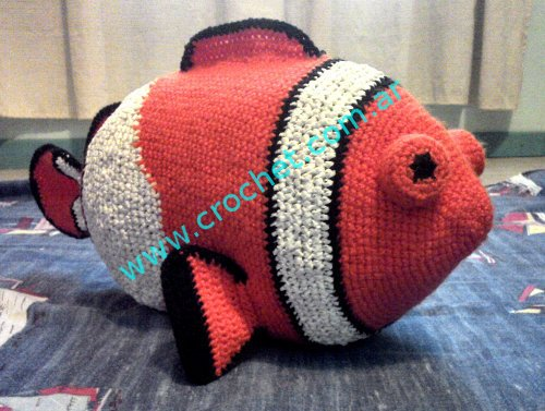 Nemo Part 1 Loomigurumi Amigurumi Rainbow Loom Band Crochet Hook ... | 377x500
