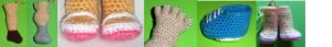 como tejer diferentes formas de piernas y pies amigurumi 22