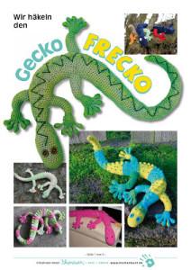 Gecko Frecko-Anleitung Titelseite