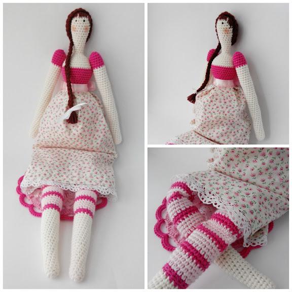 Patrón gratis amigurumi de muñeca Tilda – amigurumis y más