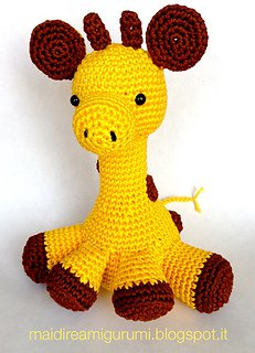 Jirafa Crochet (Maria Martinez Amigurumi) | En pleno proceso… | Flickr | 320x231