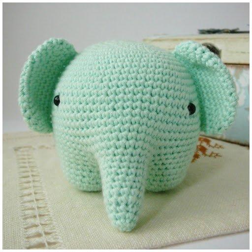 Patrón Amigurumi Elefante Bebé PATRÓN ESPAÑOL PDF Patrón | Etsy | 512x512