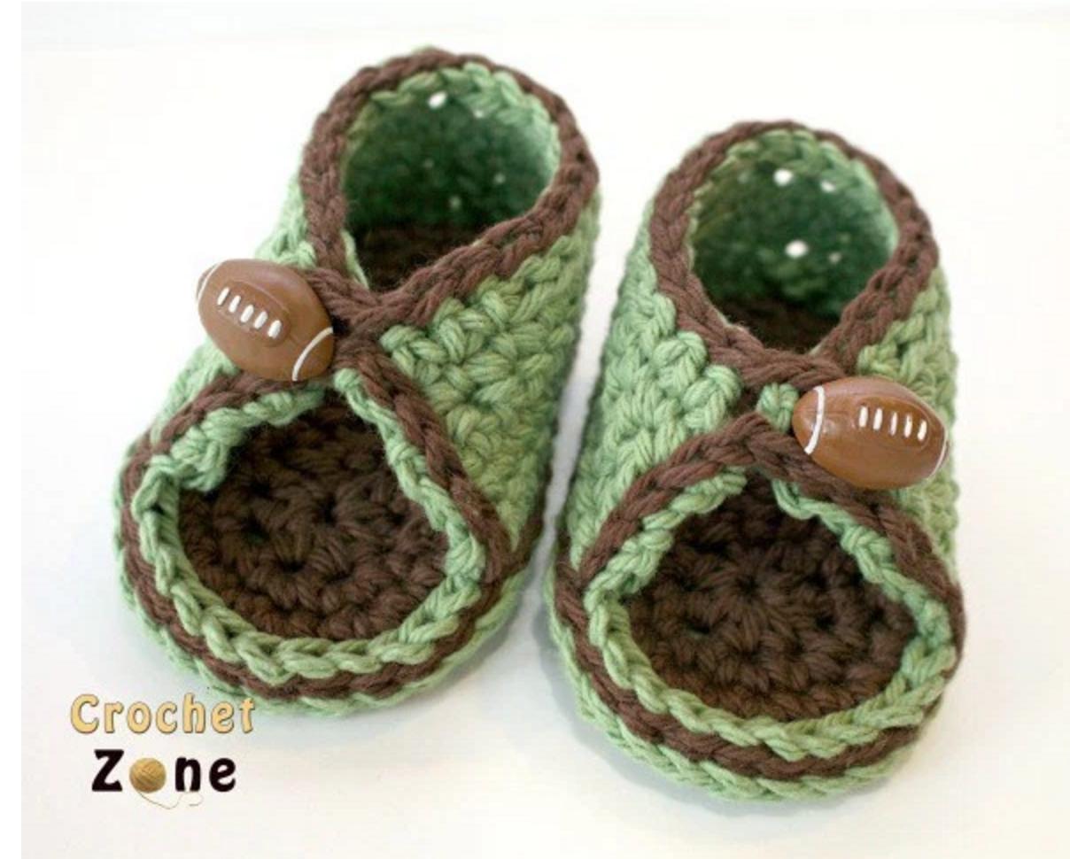 Patrón gratis ganchillo de sandalias de bebé – amigurumis y más