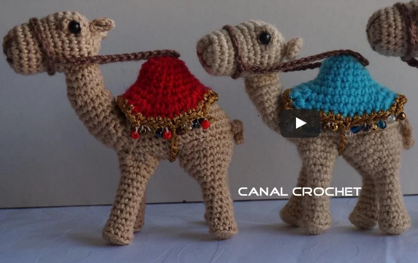 Patrón gratis amigurumi de camello – amigurumis y más