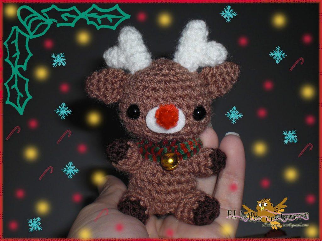 Cómo hacer adorables amigurumis para navidad - Amigurumi navideño ... | 768x1024