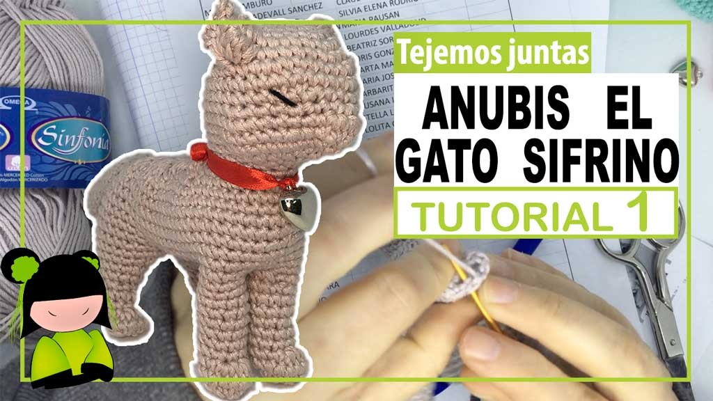 GATITO DORMIDO Amigurumi Tutorial - YouTube | Amigurumi de animais ... | 576x1024
