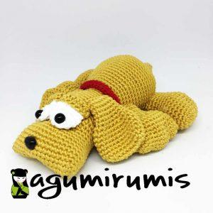 perrito amigurumi
